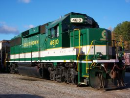 Southern 4610, EMD GP59 by Silverwolf-1ofmany