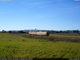 CP UDD 0459 IC584 Beja 090213 by Comboio-Bolt