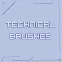 Technical Brushes by Xeylen