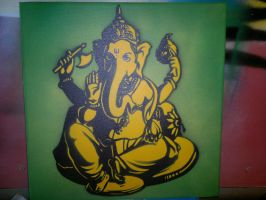 ganesha by GreenaGene