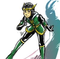 Child Loki by Riunien