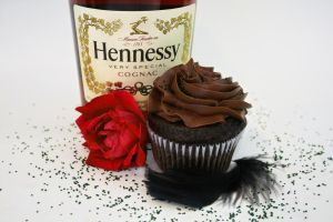 Chocolate Cognac Cupcake by FightTheAssimilation