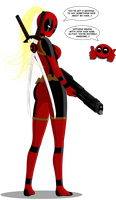 LADY DEADPOOL by lamb3rT