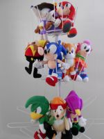 Sonic the Fighters Plush Sale by SEGAMew