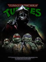 TMNT poster by MarkButtonDesign