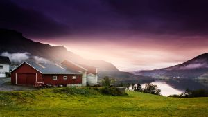 Norway Dawn by nassimhasan