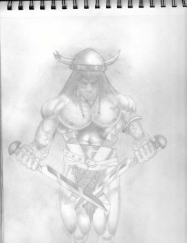 Conan and the long daggers by Tommy-Da-FAM