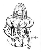 Emma Frost by Bambs79