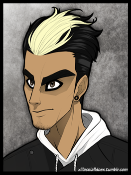 Robbie Reyes / Marvel Version of Zayn Malik by xLilacNiallDoex