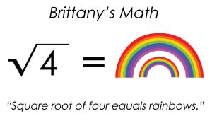Glee - Sq Root of 4 is Rainbow by agent-ayu