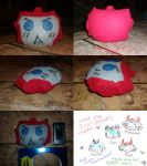Ironhide Plushie Head by Kittylover9399