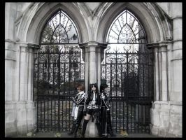 Exorcists - Guarding the Gates by KellyJane