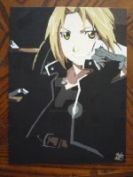 Edward Elric the Full Metal Alchemist by TrifinityVortex
