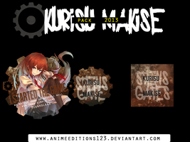 kurisu makise pack by animeeditions123