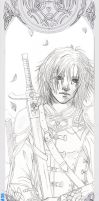 Prince Caspian Bookmark WIP by HotaruYagami