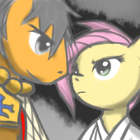 Flutterwrestler Fight by Atticus83
