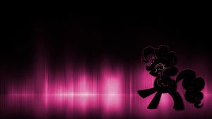 Pinkie Pie Neon Wallpaper by ccz123
