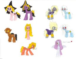 YuGiOh Ponies by TheSpoonIsMightier