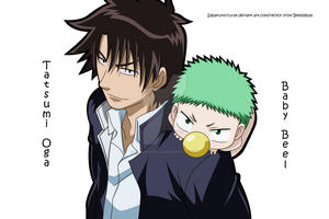 Oga and Baby Beel by RockRaven-LG