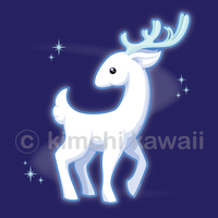 White Stag by kimchikawaii