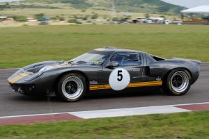 Black Ford GT 40 by artlovr59