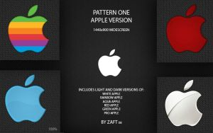 Pattern One Apple 1440x900 by Zafted