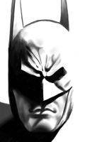 FIRST successful Batman sketch... by Art-Gem