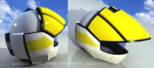 ROY FOKKER Helmet 3d by asgard-knight