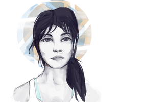 Chell by seyrii