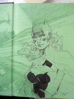 Batgirl in 6 easy steps STEP 3 by jimlee00