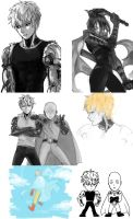 onepunch man by E-Lien