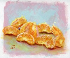 Orange Slices by Docali