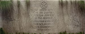 Slavic Tombstone by Kriegerman