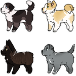 Pup Adopts ! [PRICE DROP] by WulfKat