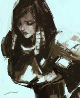 Pharah Reporting (Overwatch) by Alex-Chow