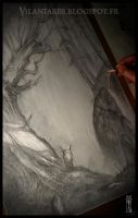 Work in progress2 - Walking through Middle Earth.. by Olivier-Villoingt