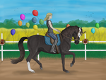 99 Luftballons - Entry by BlueWaterValley