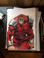 Street fighter M.Bison by snco-art0713