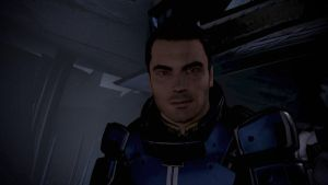 Kaidan Alenko - Mass Effect 3, Direct Gaze by loraine95