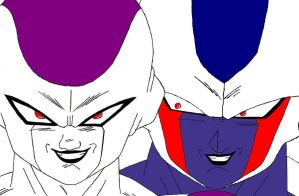 Two Tyrant Brothers by DecepticonAnais