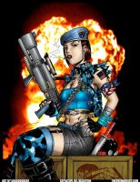 Jill Valentine: Color by SHADOBOXXER