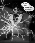 Mystic Gohan does a CHIDORI? by lauraneato