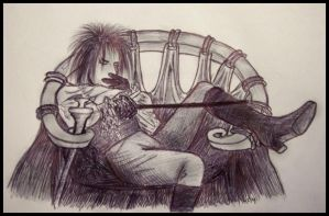 Reclining Jareth by Super-Pleb