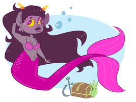Queen of The Sea by Avafaidian