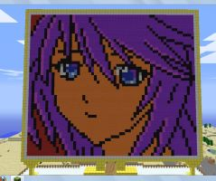 Shirayuki Mizore 13 Minecraft by Karns