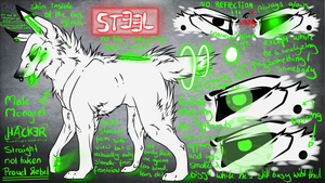 Steel .Reference Sheet. by ElectricSilence