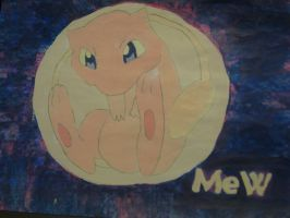 Pokemon: Mew by MakorraLove12