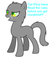 Cat-pony base Free to use by Maniactheleader