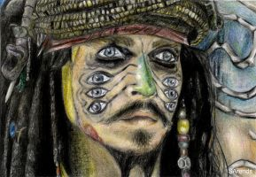 Jack Sparrow by evenstar13