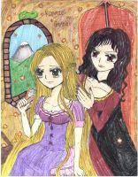 Tangled_Rapunzel_mother gothel by Kyogurt-Star459